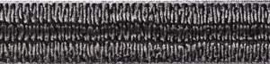 Zero Bark Argento Listello 6x25