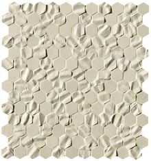 Bloom Beige Star Esagono Mosaico 32.5x29.5