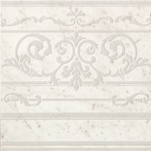 Roma Diamond Carpet Carrara Border Inserto 60x60
