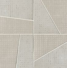 Rooy Taupe Domino Mosaico 37.5x37.5