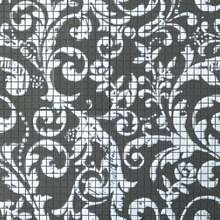 FM Damasco Black White Mosaico 60x60